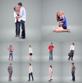 Tổng hợp 10 model 3D người chất lượng cao và đẹp 010