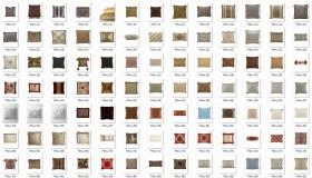 Thư viện photoshop tổng hợp về Gối ghép nội thất