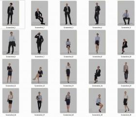 Tổng hợp 20 model 3D người Văn phòng chất lượng cao 011
