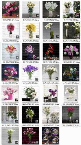 Tổng hợp 27model lọ hoa đẹp file 3dsmax
