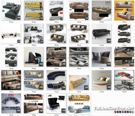Tổng hợp 28 File 3D model Sofa cực đẹp P5