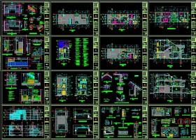 Hồ sơ thiết kế nhà phố 3 tầng diện tích 6x20m full kiến trúc, kết cấu, điện nước 082