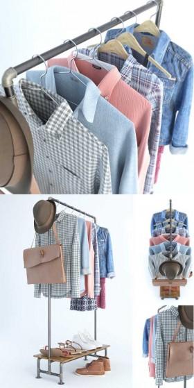 Thư viện 3d model dành cho Shop Quần áo, giày dép P1