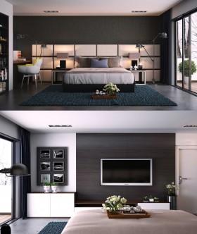 Phối cảnh phòng ngủ hiện đại và đẹp full 3ds max 00044