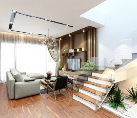 Phối cảnh nội thất 3D phòng khách Hiện đại và đẹp full file max 00035