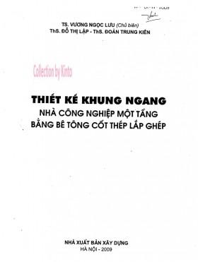 Thiết kế khung ngang nhà công nghiệp - Vương Ngọc Lưu
