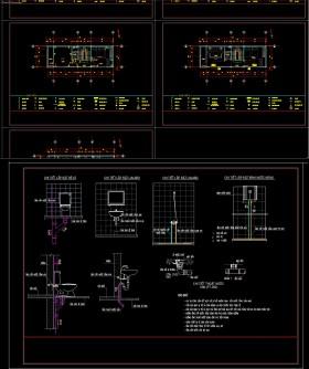 Hồ sơ thiết kế Phần điện + nước nhà phố 4 tầng diện tích 4,5x14m 094