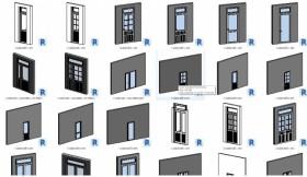 Thư viện Revit tổng hợp các loại cửa sổ Window