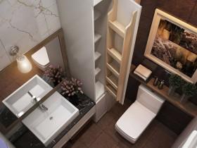 Sence Phòng tắm WC 03 - Thiết kế nội thất phòng tắm + Wc Hiện đại