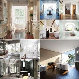 Thư viện 3dsMax EV Interiors Vol.39 - Nội thất phòng tắm, wc