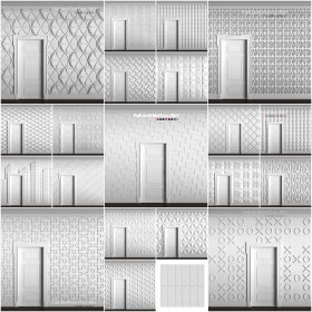 Tổng hợp 21 Model về Tường 3D Wall full Map chất lượng cao 05