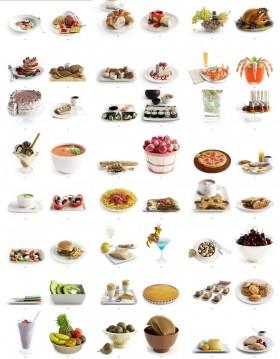 Thư viện 3dsmax tổng hợp 50 Model về các loại thực phẩm, đồ ăn P10