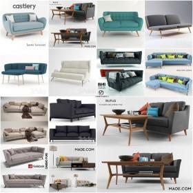 Thư viện Tổng hợp 12 File 3D model Sofa cực đẹp P9