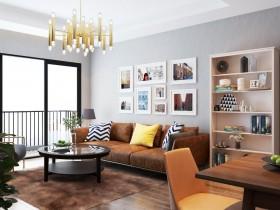 Phối cảnh nội thất 3D Phòng khách hiện đại và đẹp 00068