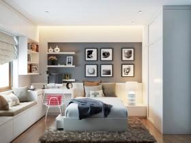 Sence Phòng Ngủ trẻ con 00016 - Thiết kế nội thất phong cách hiện đại