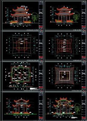 Hồ sơ thiết kế thi công Nhà Bia tưởng niệm