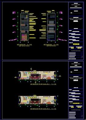 Hồ sơ thiết kế nhà phố 4 Tầng hiện đại diện tích 4x17m - 109 full kiến trúc, kết cấu