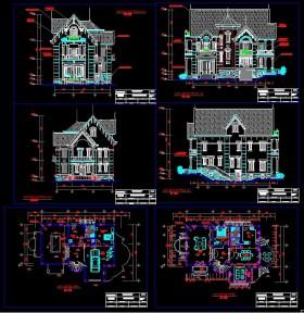 Hồ sơ thiết kế biệt thự 3 tầng diện tích 11,7x15,2m 0105 full bản vẽ (Kiến trúc, kết cấu, điện, nước)