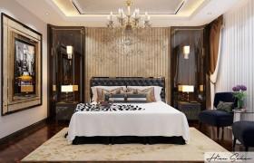 Phối cảnh phòng ngủ Master phong cách Tân cổ điển full file 3dsmax 00072
