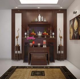 Sence Phòng thờ 020 - Thiết kế nội thất phòng thờ đẹp Full download