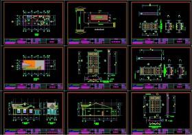 Hồ sơ thiết kế nhà 1 tầng 6x17m full kiến trúc 024