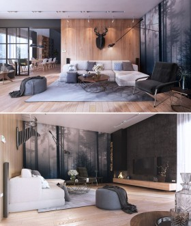 Phối cảnh phòng ngủ Master phong cách Hiện đại đẹp full file Sketchup 00073