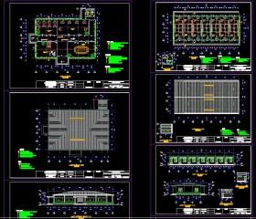 Hồ sơ thiết kế nhà Văn Phòng và nhà tập thể khu công nghiệp full kiến trúc