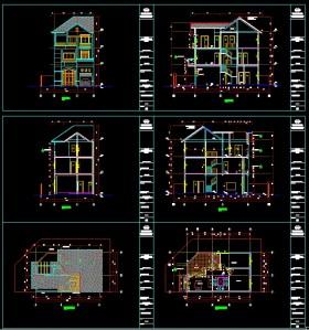 Hồ sơ Bản vẽ thiết kế sơ bộ nhà phố 7m x12m mẫu 120