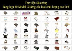 Thư viện Sketchup - Tổng hợp 50 Model Giường các loại chất lượng cao 003
