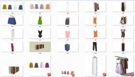 Thư viện 3d sketchup về Quần áo các loại P2