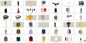 Thư viện 3d sketchup về Quần áo các loại P3