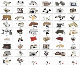 Thư viện Sketchup - Tổng hợp 50 Model Ghế Sofa các loại chất lượng cao 006