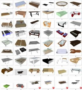 Thư viện 3d sketchup Tổng hợp 50 Model bàn nước đẹp full P2