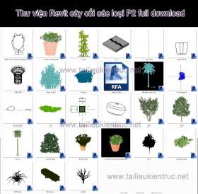Thư viện Revit cây cối các loại P2 full download