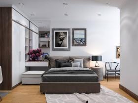 Phối cảnh phòng ngủ phong cách Hiện đại đẹp full file Max 00080