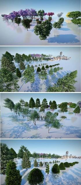 Thư viện Lumion Tổng hợp Model về cây cối các loại chất lượng và đầy đủ
