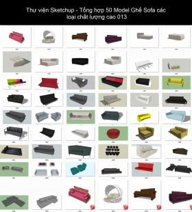 Thư viện Sketchup - Tổng hợp 50 Model Ghế Sofa các loại chất lượng cao 013