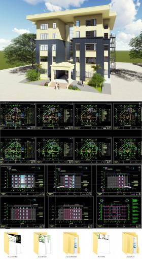 Hố sơ thiết kế thi công cải tạo sửa chữa nhà xét nghiệm và chống nhiễm khuẩn Bệnh viện E
