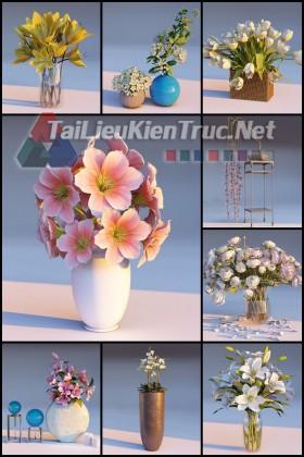 Thư viện Lumion Tổng hợp Model về Lọ hoa trang trí nội thất các loại chất lượng và đầy đủ