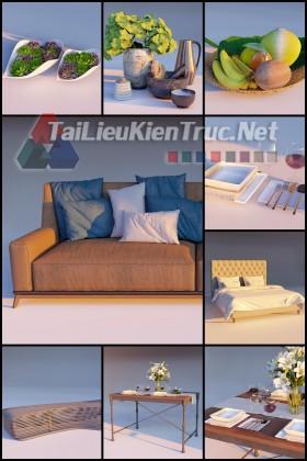Thư viện Lumion Tổng hợp Model về đồ nội thất và trang trí download