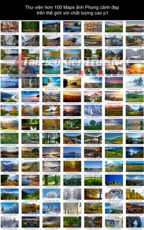 Thư viện hơn 100 Maps ảnh Phong cảnh đẹp trên thế giới với chất lượng cao p1