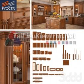 Thư viện 3dsmax tổng hợp về các Model Cánh tủ bếp đẹp và Pro P1