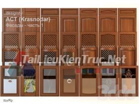 Thư viện 3dsmax tổng hợp về các Model Cánh tủ bếp đẹp và Pro P3