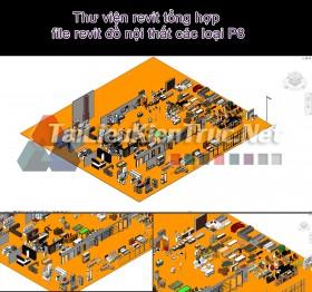 Thư viện revit tổng hợp file revit đồ nội thất các loại P8