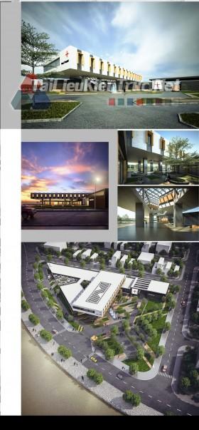 Đồ án tốt nghiệp kiến trúc: Thiết kế bệnh viện full bản vẽ autocad, photoshop