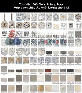 Thư viện 363 file ảnh tổng hợp  Map gạch châu Âu chất lượng cao #12