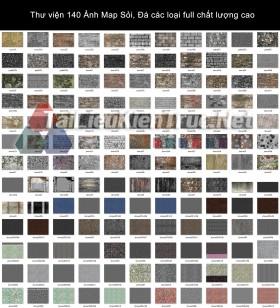 Thư viện 140 Ảnh Map Sỏi, Đá các loại full chất lượng cao