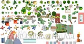 Thư viện Photoshop cảnh quan sân vườn p18