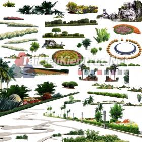 Thư viện Photoshop cảnh quan sân vườn p29