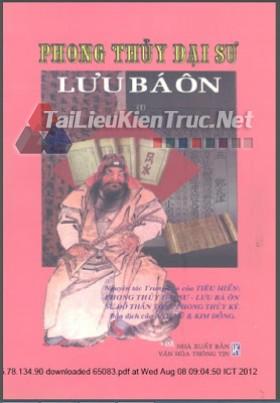 Sách phong thủy đại sư Lưu Bá Ôn tập 1